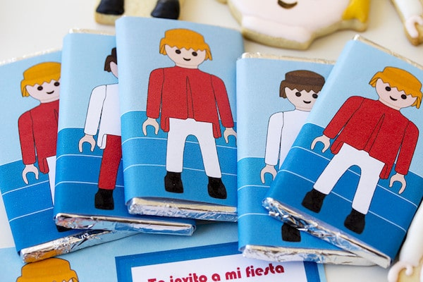 Fiesta temática Playmobil