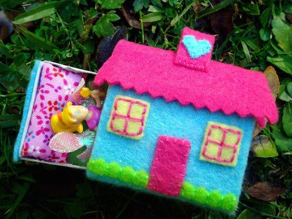 6 manualidades con fieltro para ni os pequeocio - Casas de tela para ninos ...