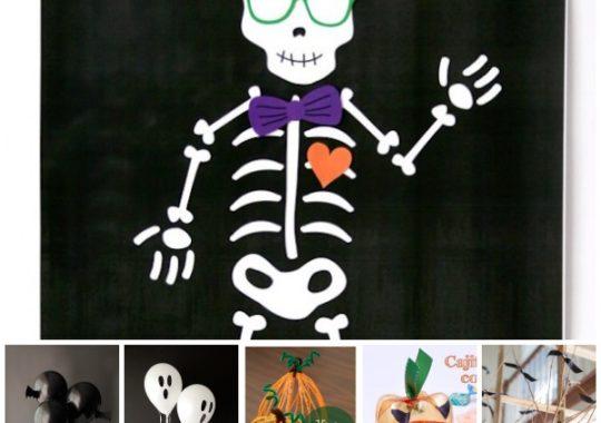 Manualidades De Halloween Pequeociocom - Cosas-para-halloween-manuales