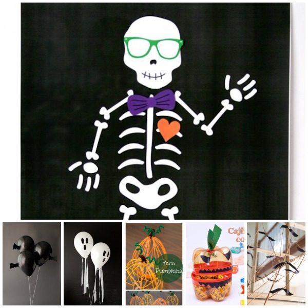 Manualidades infantiles para una fiesta de halloween - Fiesta halloween infantil ...