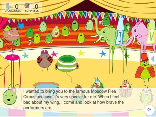 App infantil cuento interactivo