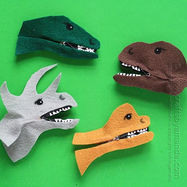 Manualidades originales de dinosaurios