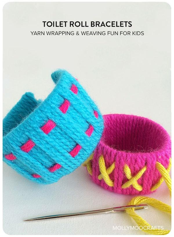 Manualidades con lana para peques