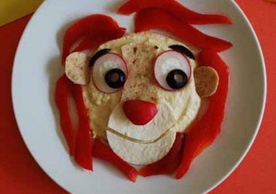 Recetas para niños con hummus