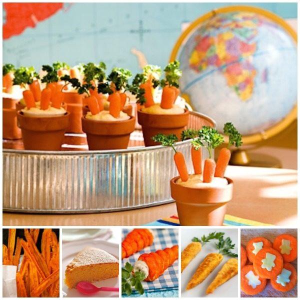 Recetas de verduras con zanahoria