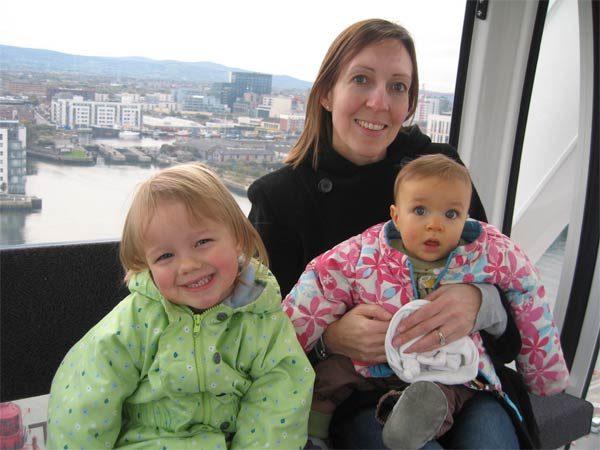 Dublín con niños