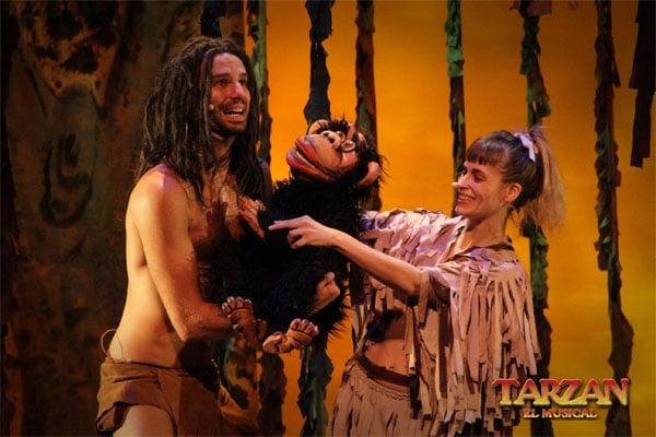 Tarzán, el musical para niños en Madrid