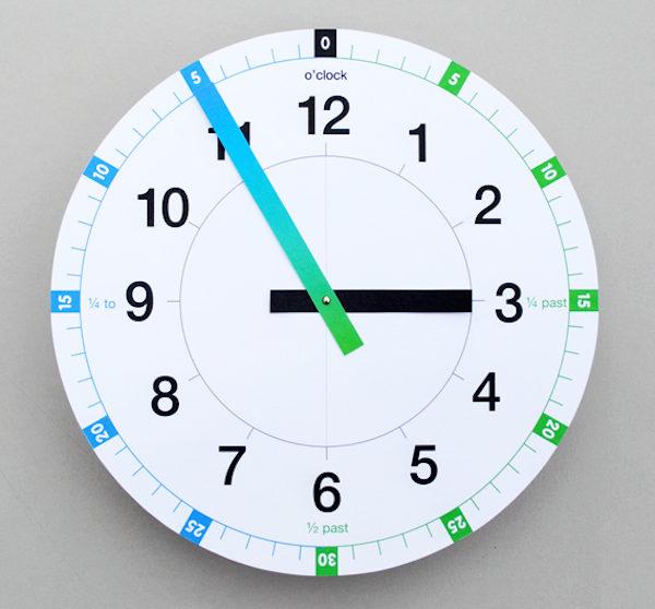 4 juegos infantiles para aprender la hora - Manualidades relojes de pared ...