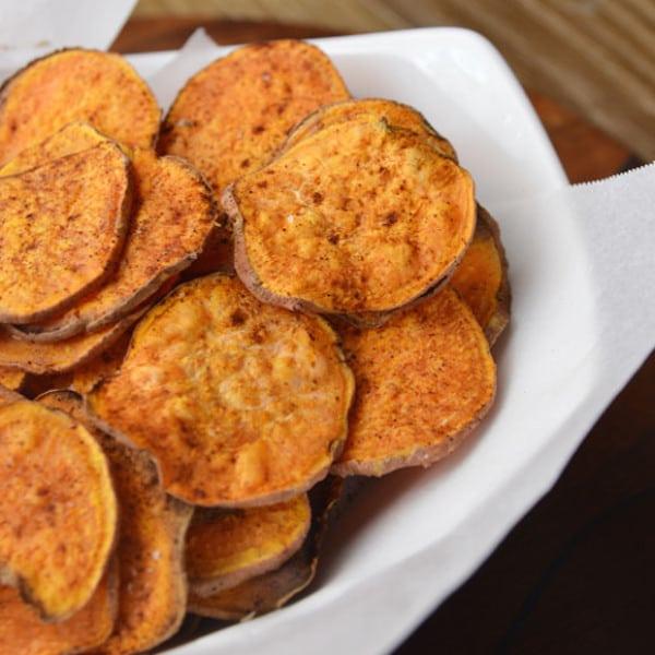 Chips sanos para niños