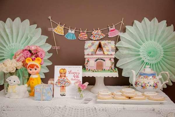 6 fiestas infantiles muy originales pequeocio for Decoracion fiesta vintage