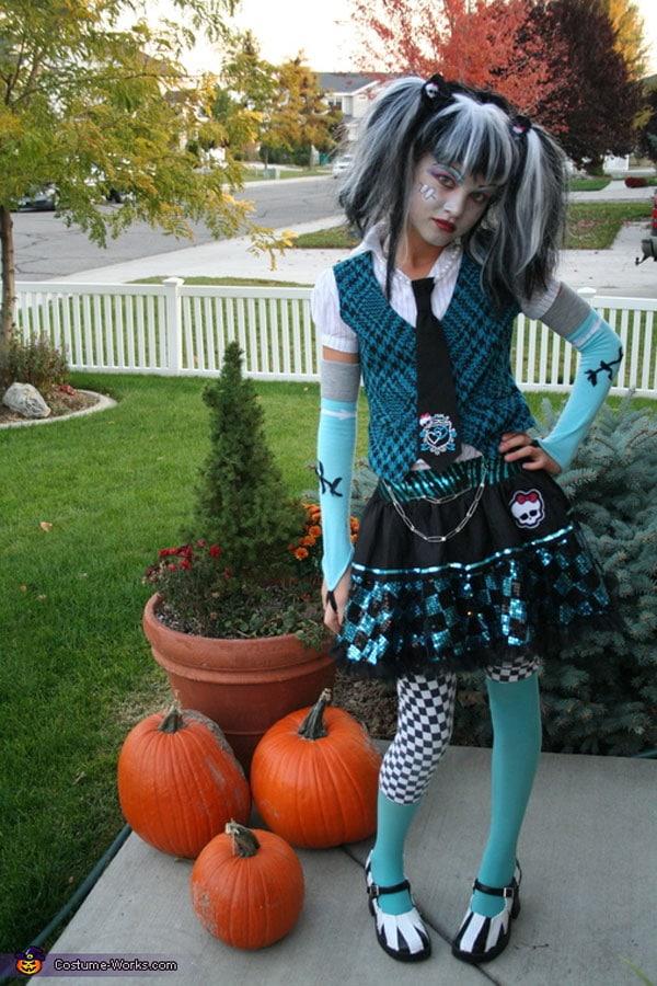 7 disfraces de halloween para ni a monstruosos pequeocio - Disfraces originales hechos en casa ...