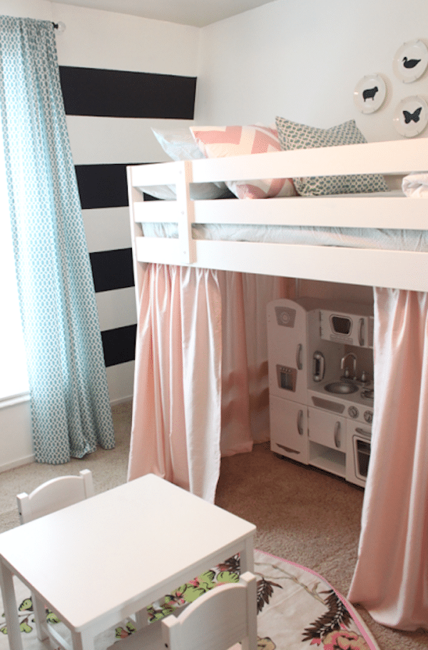 Habitaciones infantiles c mo ganar espacio pequeocio - Camas dobles infantiles para espacios reducidos ...