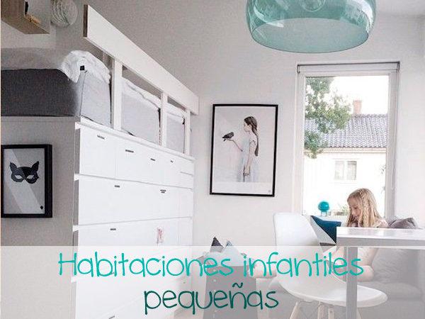 Habitaciones infantiles c mo ganar espacio pequeocio - Habitaciones pequenas ninos ...