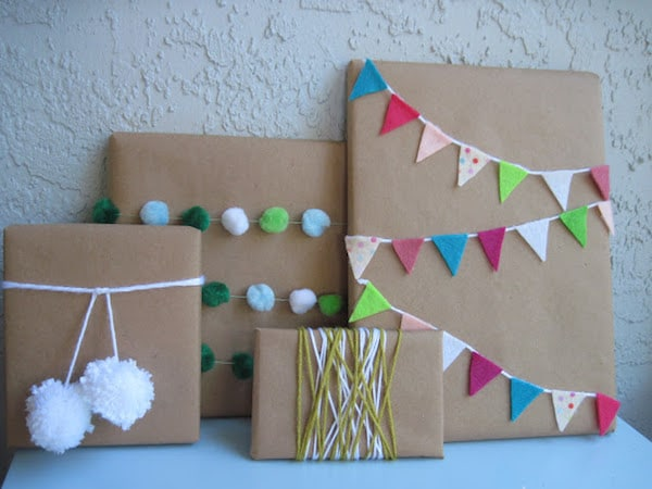 10 ideas para envolver regalos para ni os pequeocio - Paquetes originales para regalos ...