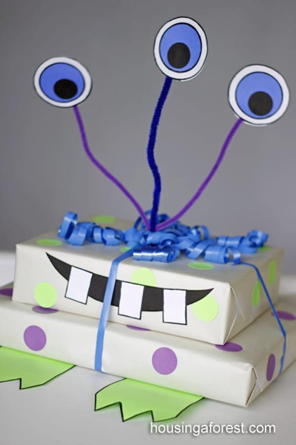 10 ideas para envolver regalos para ni os pequeocio - Envoltorios originales para regalos ...