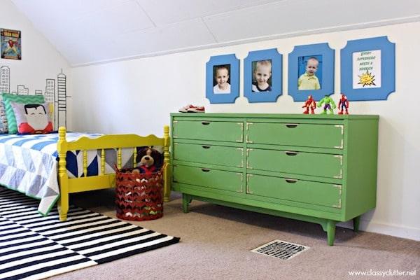 Dormitorios infantiles de superhéroes