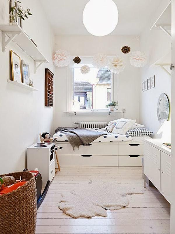 Habitaciones infantiles c mo ganar espacio pequeocio - Habitaciones de ninos pequenas ...