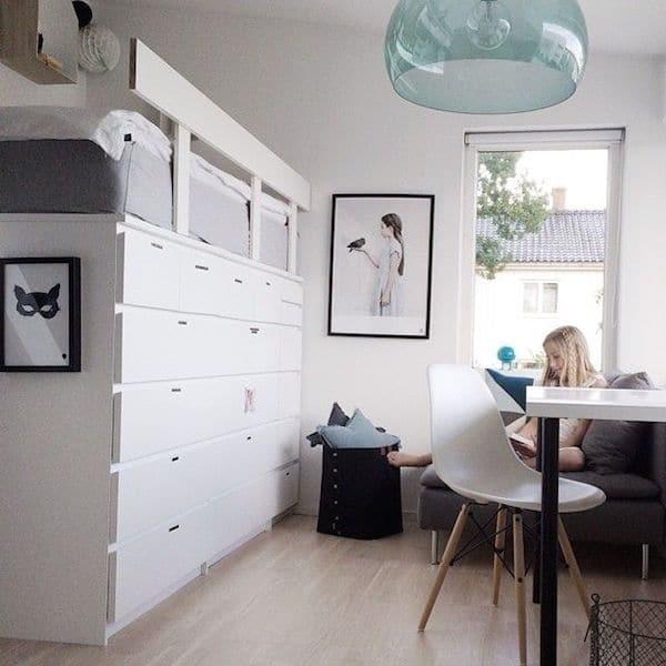 Ideas almacenaje habitacion peque a - Habitaciones infantiles pequenas ...