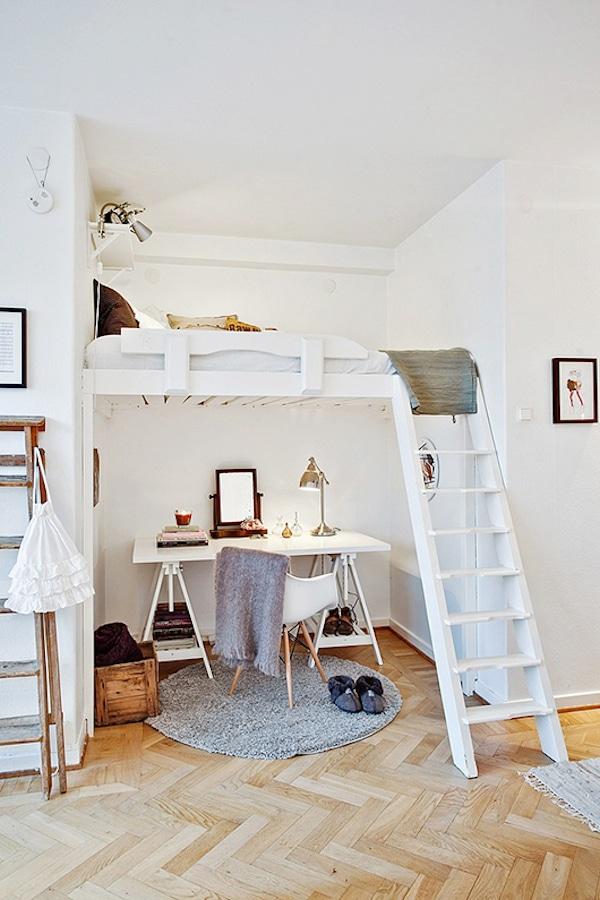 Habitaciones Infantiles Como Ganar Espacio Pequeociocom - Habitaciones-pequeas-nios