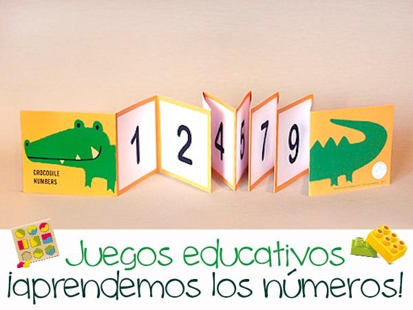 Juegos Educativos Caseros Aprendiendo Los Numeros Pequeocio Com