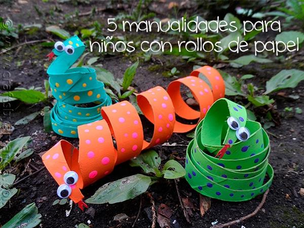 5 manualidades f ciles con rollos de papel higi nico - Manualidades cocina para ninos ...
