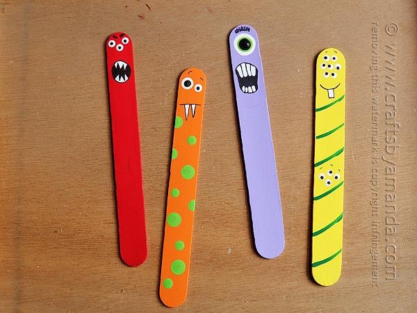 Monster Craft Sticks