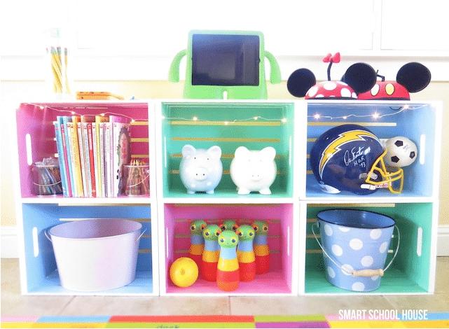 Muebles reciclados con cajas de fruta pequeocio - Caja fruta decoracion ...
