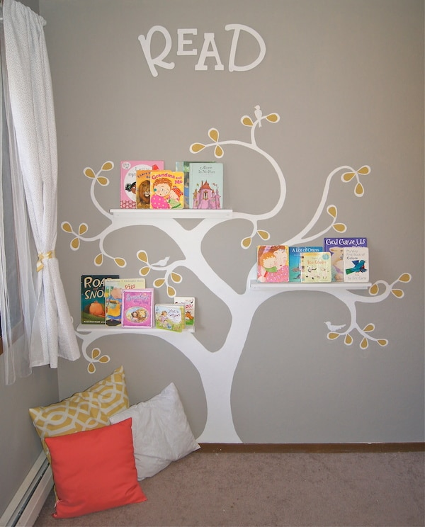 9 murales infantiles muy originales pequeocio. Black Bedroom Furniture Sets. Home Design Ideas