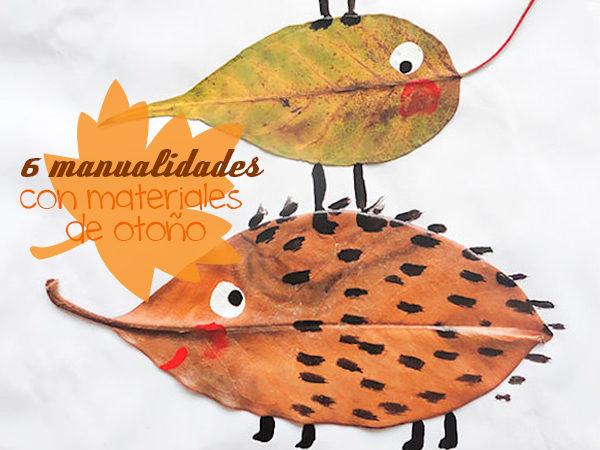 Manualidades para niños de otoño