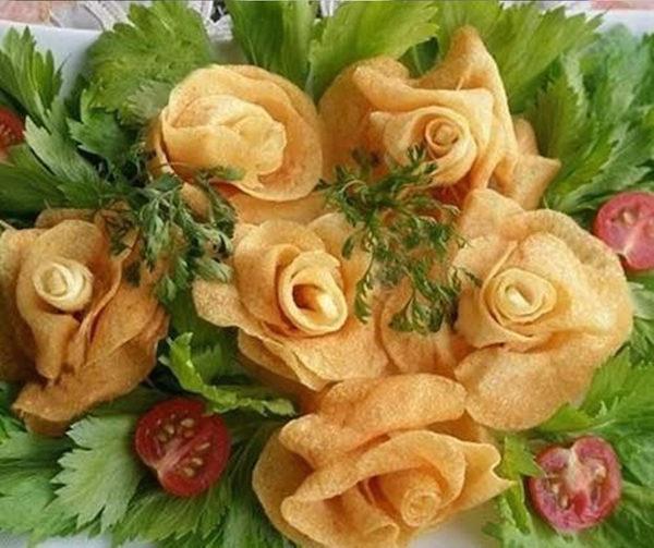 Recetas originales con flores