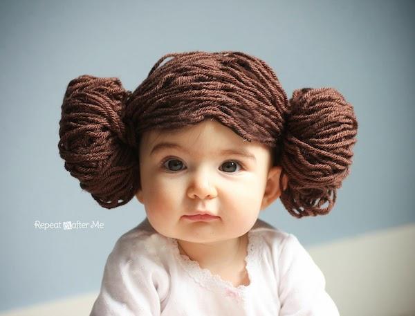 Disfraces infantiles caseros pelucas