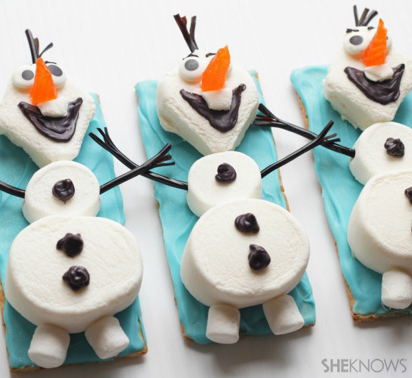 Recetas para niños de Frozen