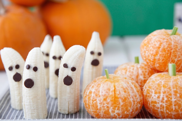 Recetas con fruta para Halloween