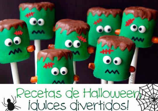 Recetas dulces de Halloween