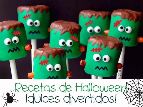 Recetas de halloween dulces divertidos pequeocio for Decoracion halloween manualidades