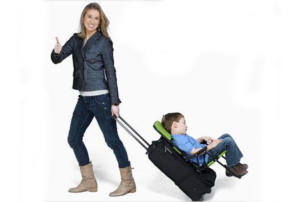 Silla infantil para maletas