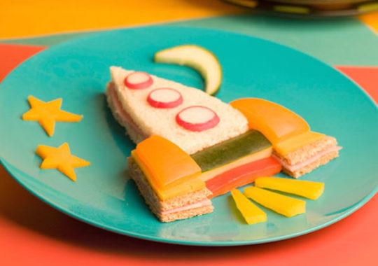 Comidas fáciles, sándwiches divertidos