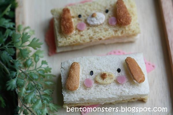 Sándwiches originales para niños