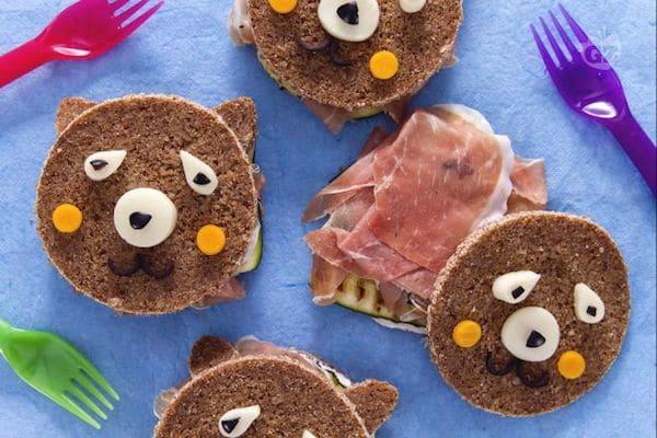 Sándwiches para niños