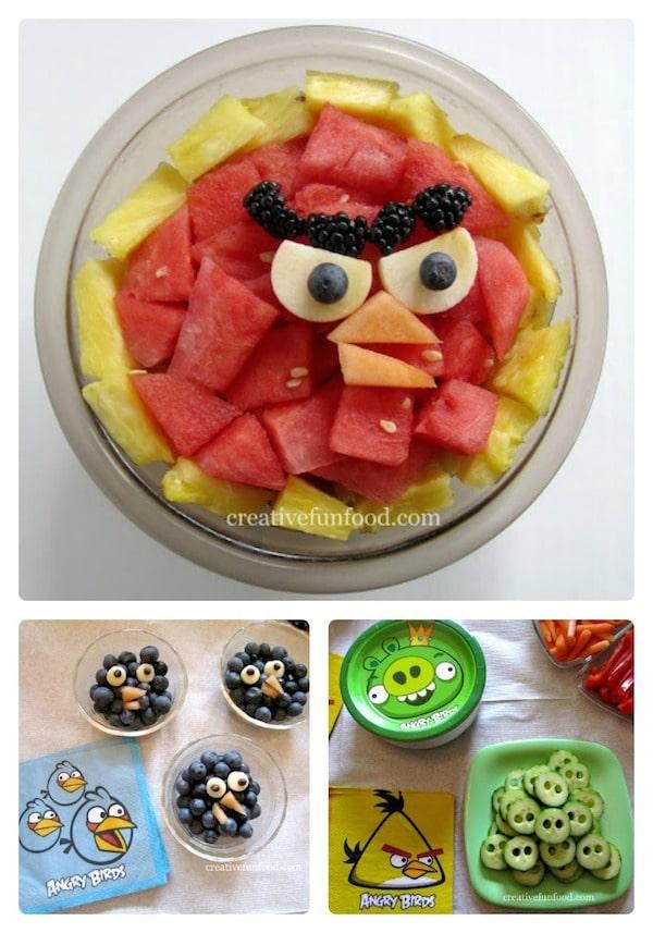 Comidas de Angry Birds