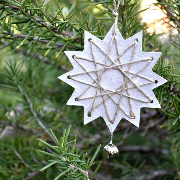Adornos navideños fáciles