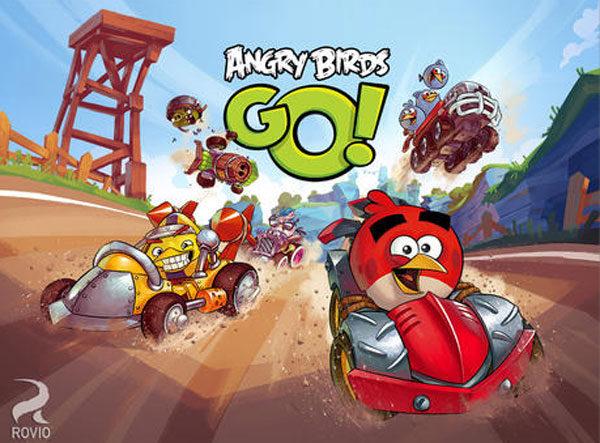 Angry Birds Go, app gratis