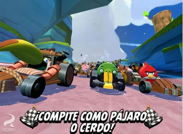 App gratis de Angry Birds