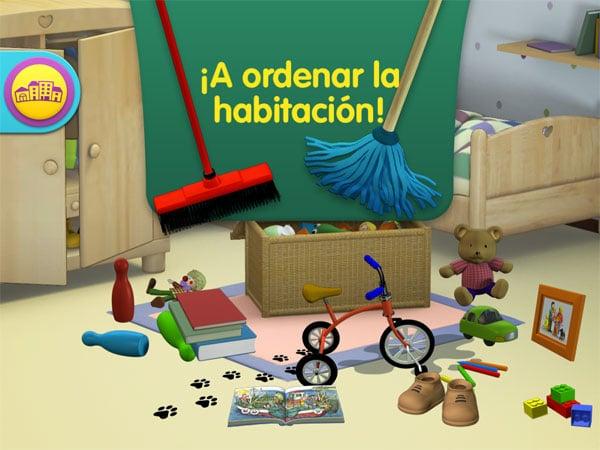 Juegos app El Mundo de Teo