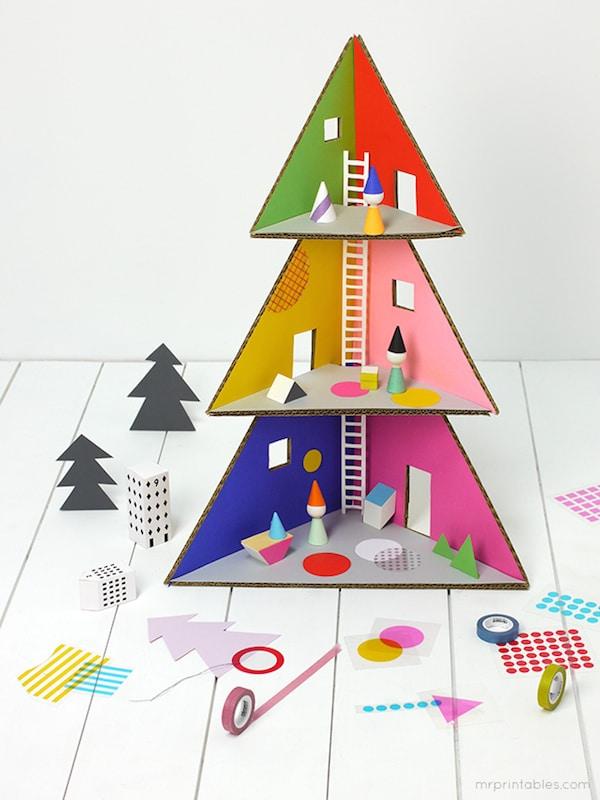 rboles de navidad originales para jugar