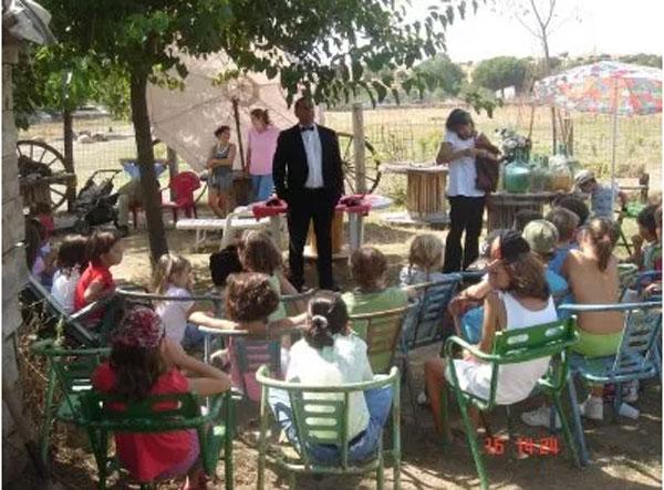 Madrid con niños: Burrolandia