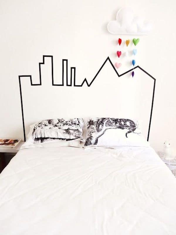 Habitaciones infantiles decoramos con nubes pequeocio - Cabeceros de camas originales ...