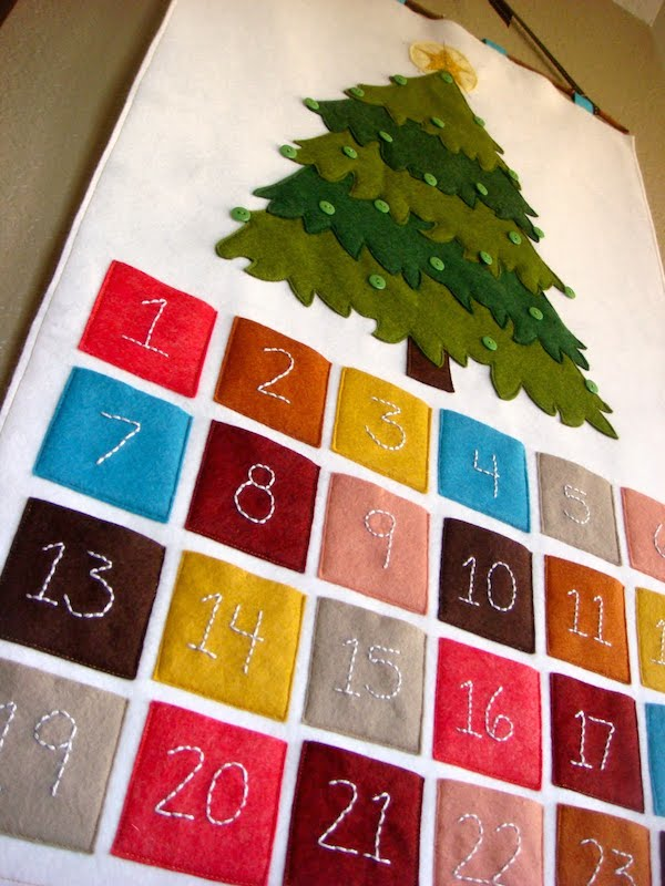 manualidades navide as 8 calendarios de adviento pequeocio