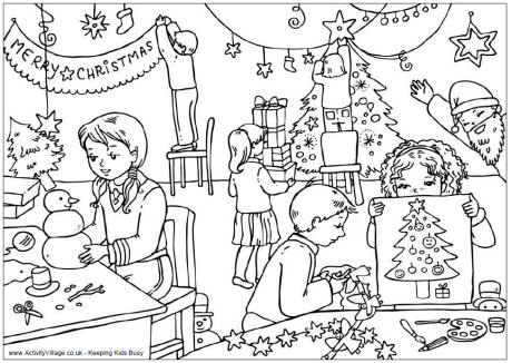 christmas football coloring pages - photo#7