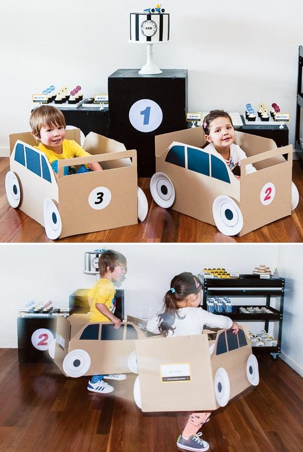 Manualidades para ni os coches de juguete pequeocio for Trabajos manuales sencillos